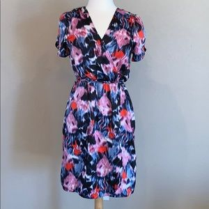 Banana Republic Floral Wrap Top Dress